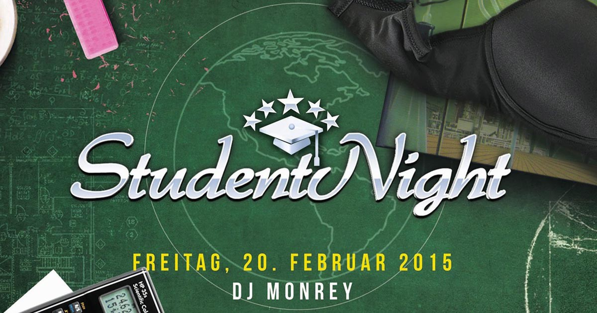 StudentNight Paderborn Februar 2015