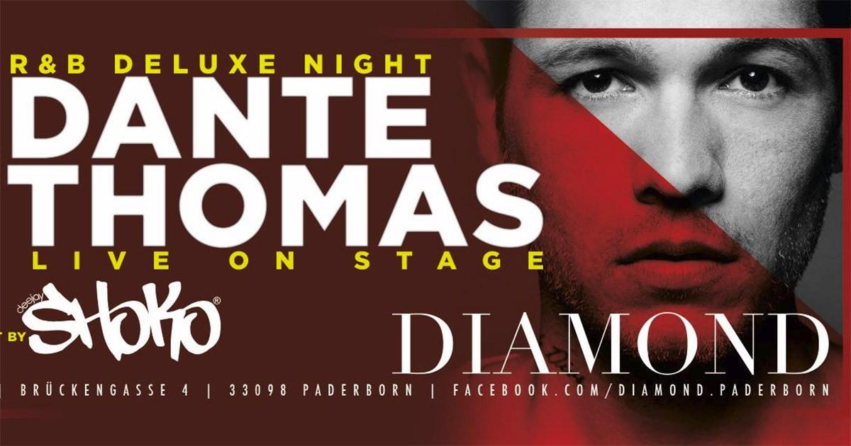 Dante Thomas im Diamond Paderborn an Ostern