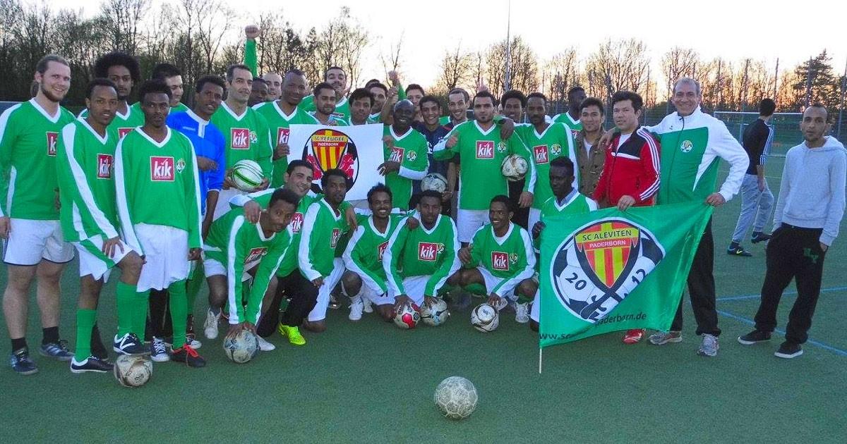 Flüchtlinge Fußball Mannschaft Paderborn