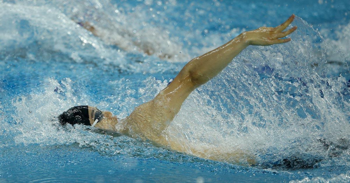 Paderborner André Wiersig schwimmt durch Kaiwi-Kanal