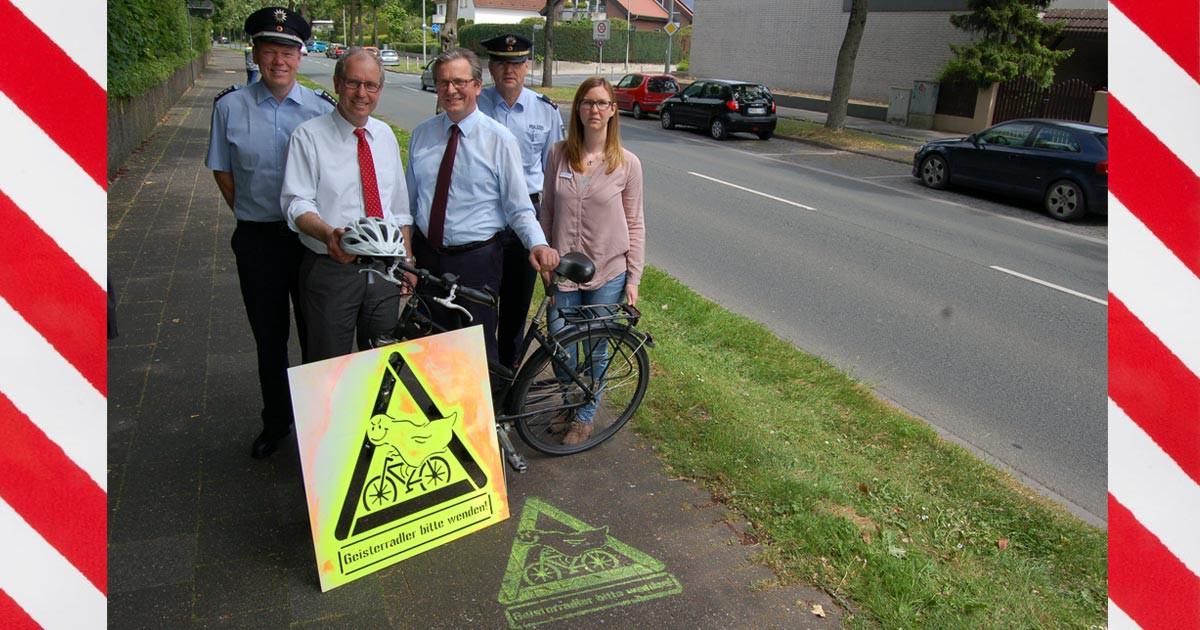 Fahrrad Geisterfahrer Paderborn