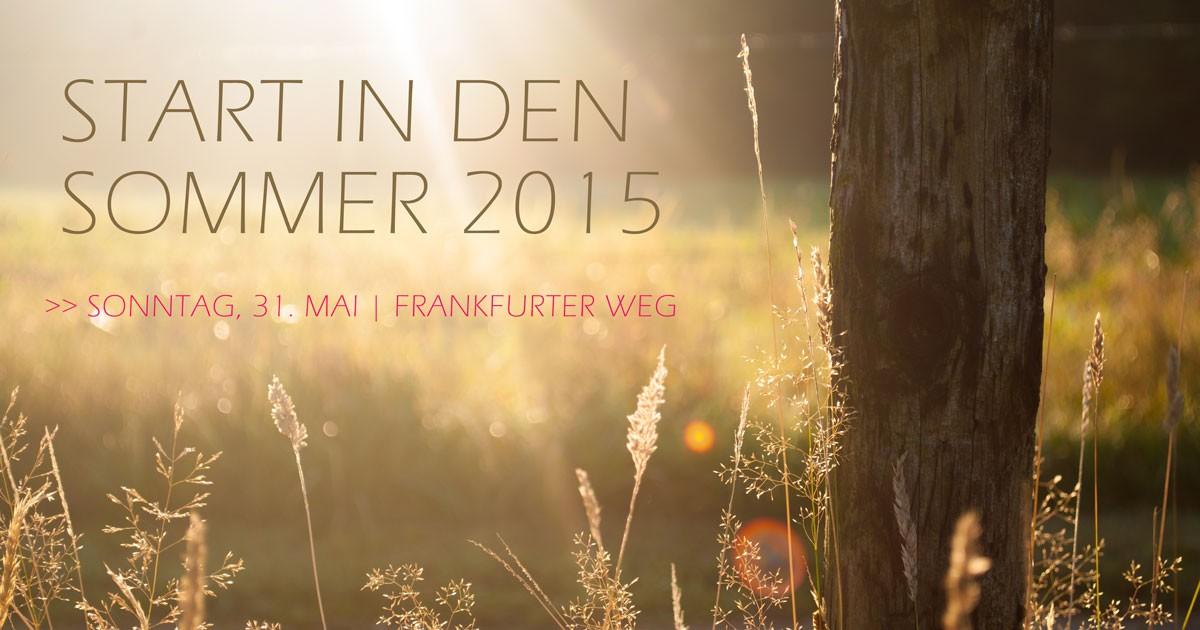 Start in den Sommer 2015 Paderborn