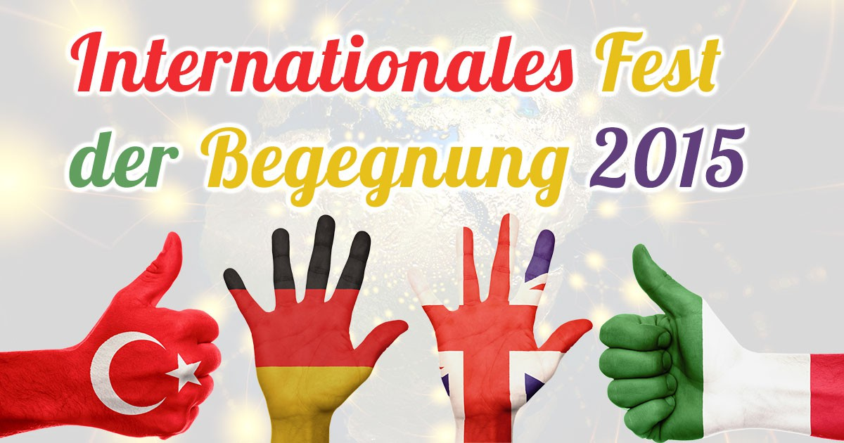 Internationales Fest der Begegnung Paderborn 2015