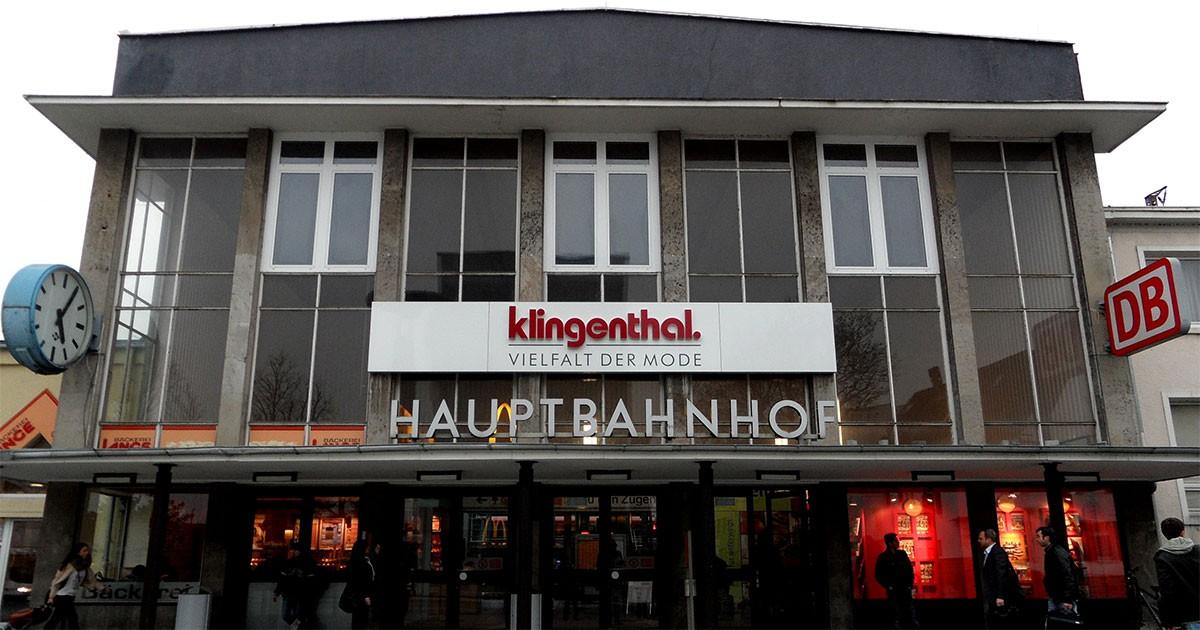 Paderborn Hauptbahnhof