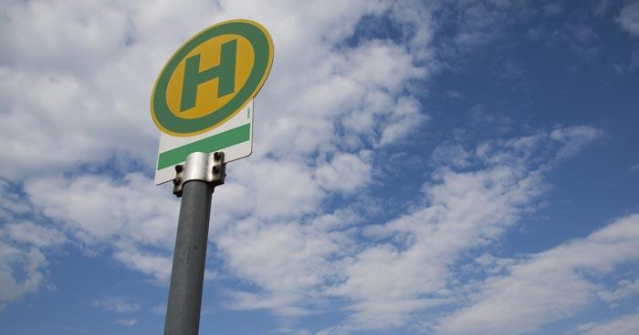 Bushaltestelle Paderborn