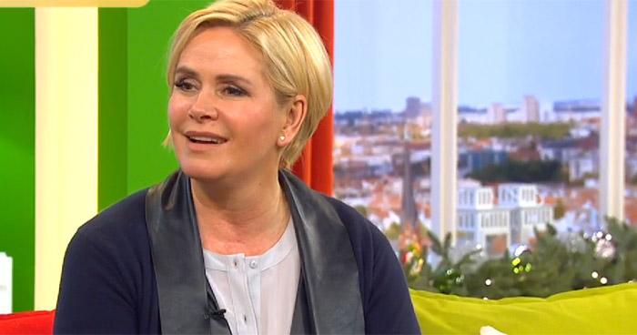 Claudia Effenberg über Paderborn im Sat1-Frühstücksfernsehen