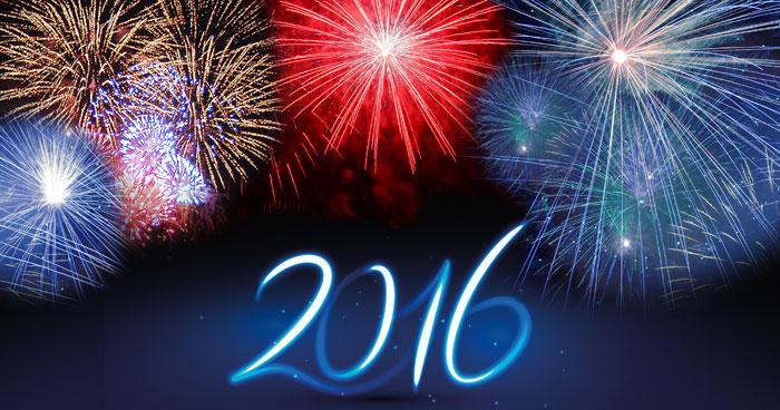Frohes neues Jahr 2016 Paderborn!