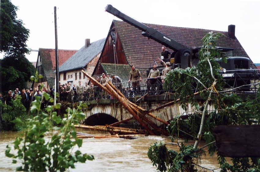 Heinrichsflut 1965 Kreis Paderborn