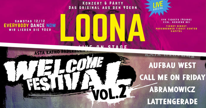 Loona Welcome Festival Paderborn