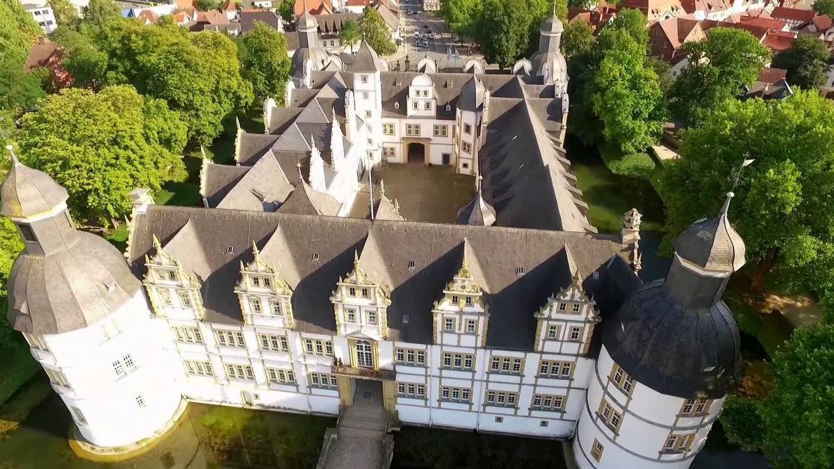 Video: Kreis Paderborn von oben