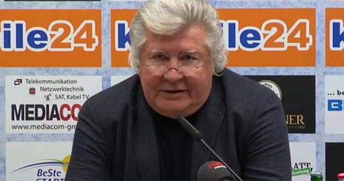 Finke auf Pressekonferenz: Proschwitz geht, Effenberg bleibt