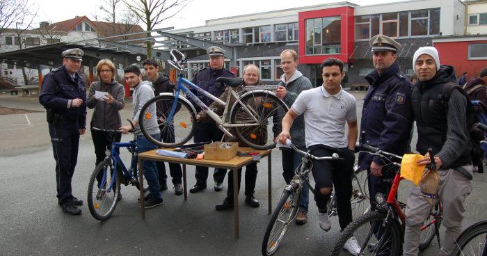 Fahrradtag Flüchtlinge Paderborn