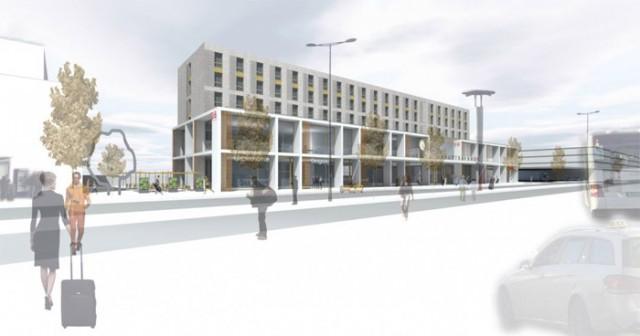 Neubau Hauptbahnhof Paderborn Bremer AG