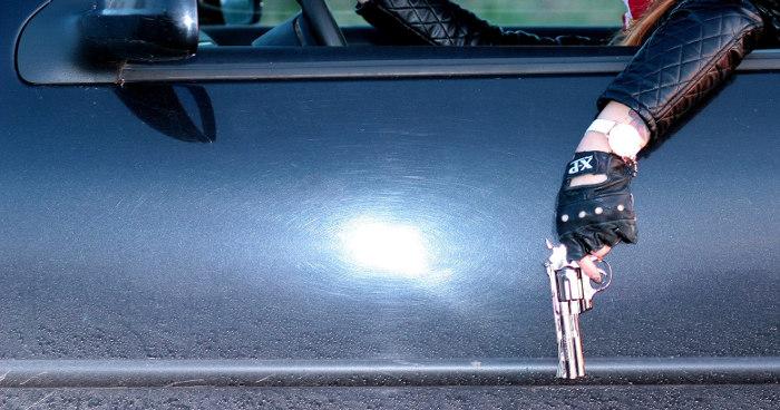 Pistole auf Autofahrer gerichtet Paderborn
