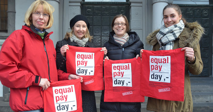 Rabatte Frauen Paderborn Equal Pay Day