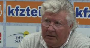 Wilfried Finke droht mit Abschied beim SC Paderborn