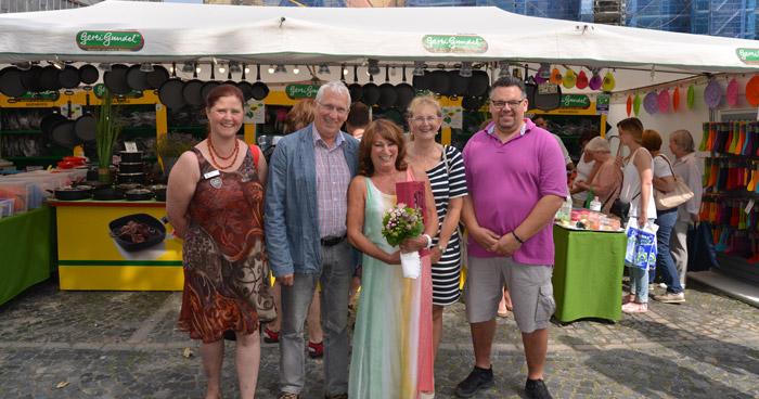 50 Jahre Pfannen-Stand auf Libori-Pottmarkt