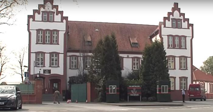 Alanbrooke Kaserne Paderborn Elsener Straße