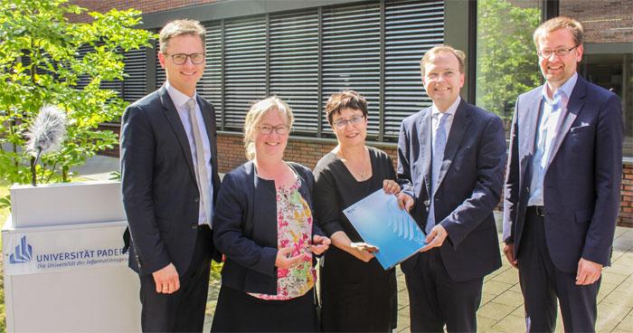 Bund fördert Universität Paderborn mit 10,3 Millionen