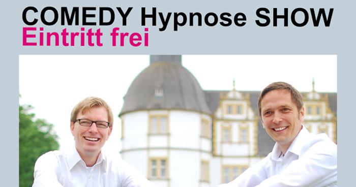 Comedy-Hypnose-Show in Paderborn mit Roland Kampffmeyer