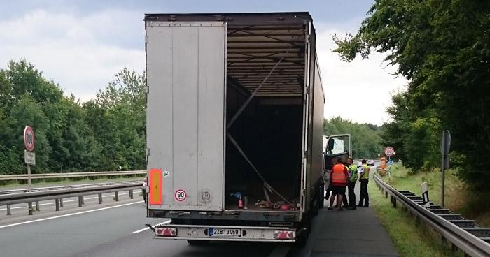 LKW Autobahn kegeln Paderborn