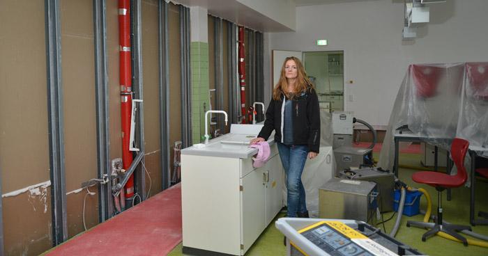 Wasserschaden im Reismann-Gymnasium Paderborn
