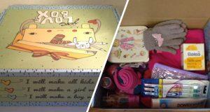 Flüchtlingshilfspaket Paderborn Love Box