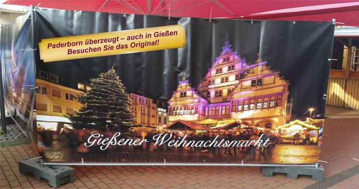 Gießen Paderborn Weihnachtsmarkt