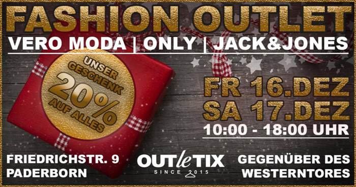 Outletix Fashion-Outlet Paderborn
