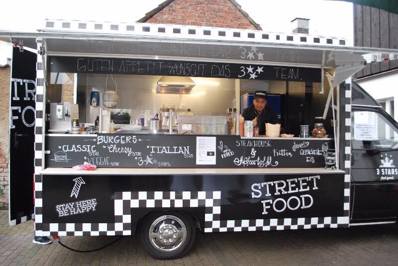 Foodtruck 3 Stars Streetfood Markt Paderborn