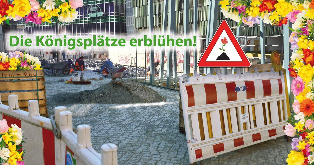Königsplätze Blumen Paderborn