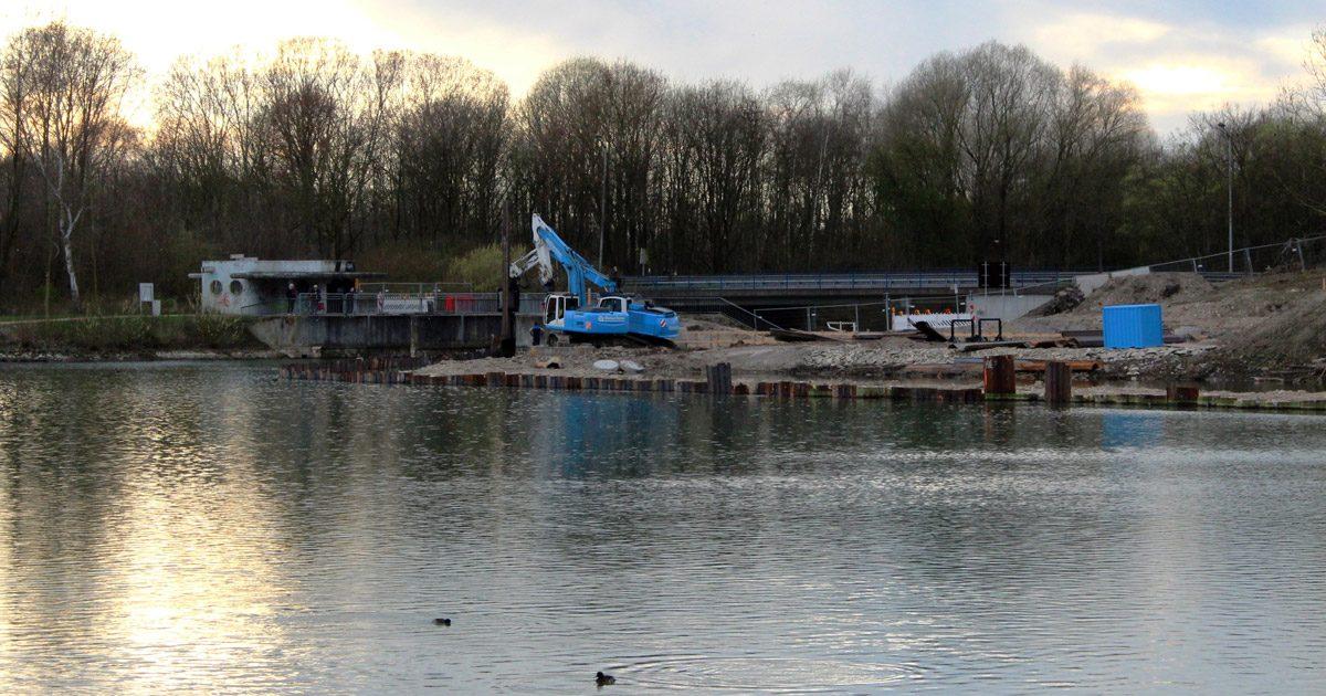Padersee Umflut Bauarbeiten 2017