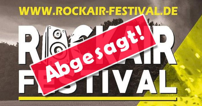 Rockair Festival Paderborn abgesagt