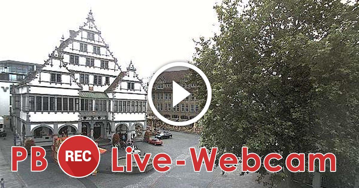 Webcam Paderborn Rathausplatz Live