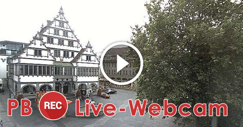 Webcam Paderborn Rathausplatz Live