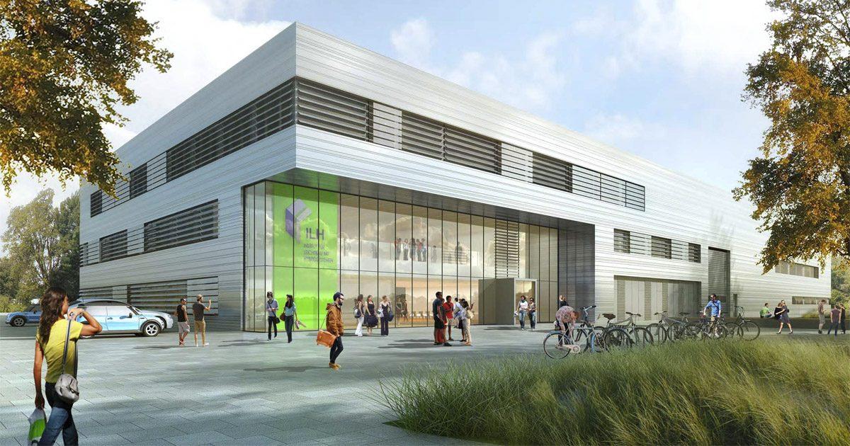 Neues ILH-Forschungsgebäude der Uni Paderborn