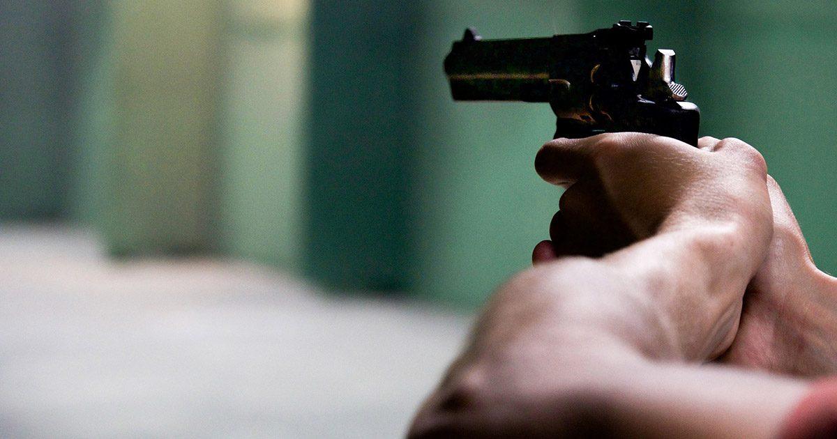Polizei Schießerei Schuss Waffe Pistole Paderborn