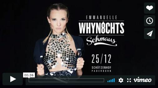 Emmanuelle-Party Weihnachtsschmaus in Paderborn