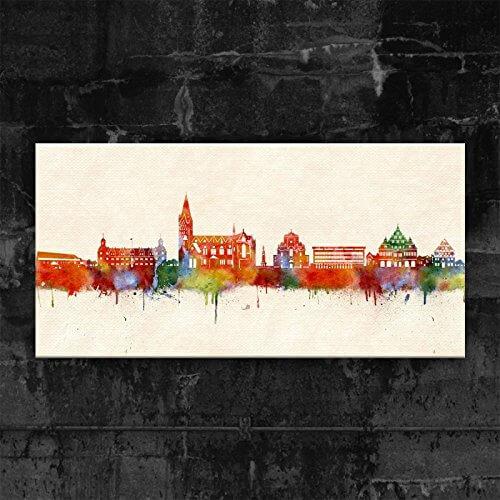 Paderborn Skyline Kunstbruder Bild