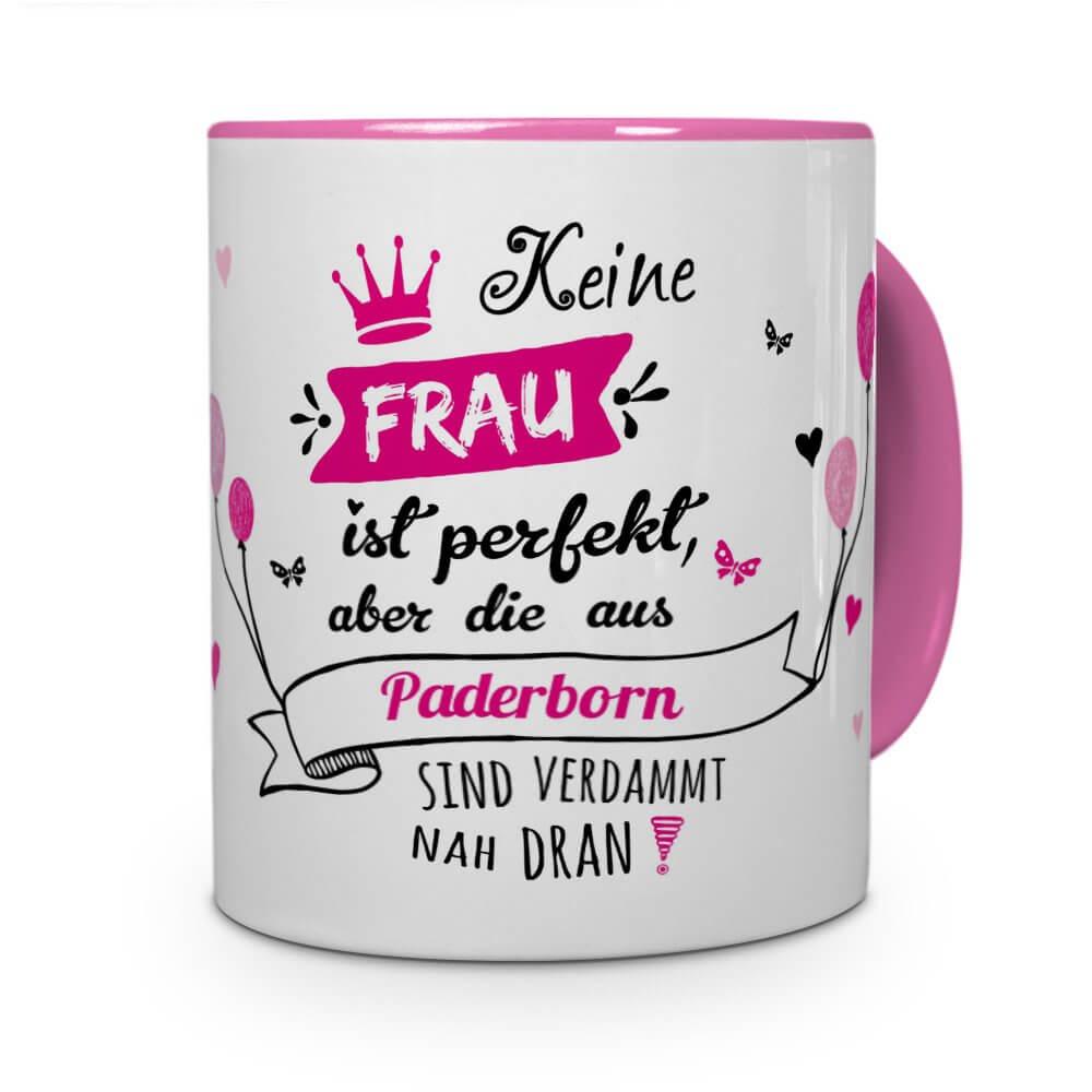 Paderborn-Tasse Frau